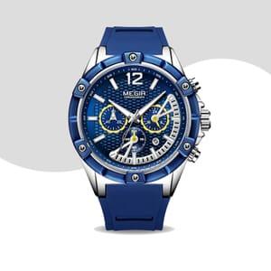 chronograph watch Megir