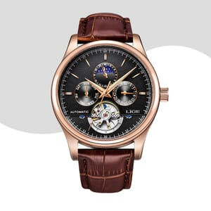 Mens Tourbillion watch