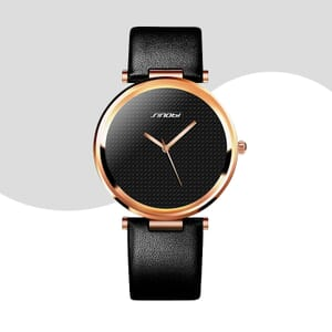 simple styled ladies watch